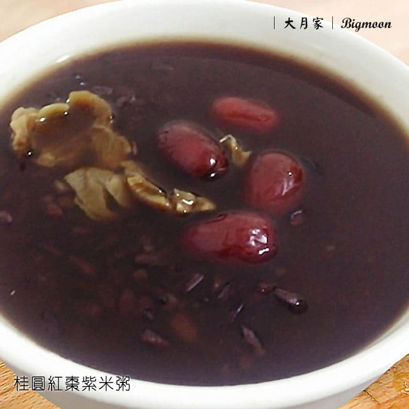 紫米(黑糯米)-養身米-大月家 BIGMOON